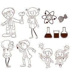 Science vector image