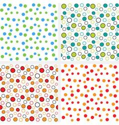 dots vector image