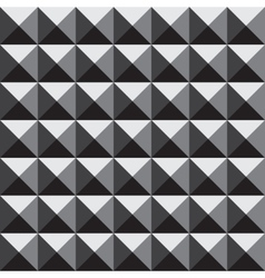 3d pyramid pattern vector image