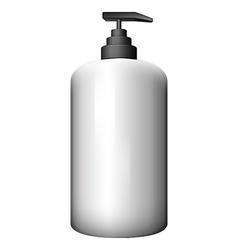 A pump-style bottle vector