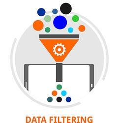 Data filtering vector