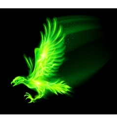 Fair hawk green 01 vector