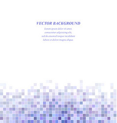 Light purple square mosaic background design vector