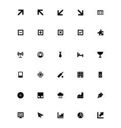 Mini icons 6 vector