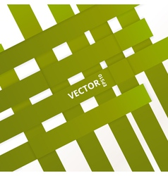 Green Line vector image