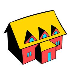 Cottage icon icon cartoon vector