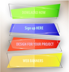 Web-banners vector