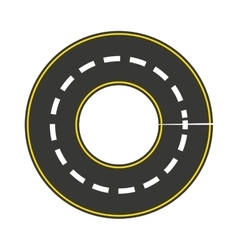 Road style isolated icon design vector