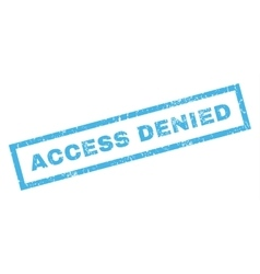 Access Denied Rubber Stamp vector image vector image