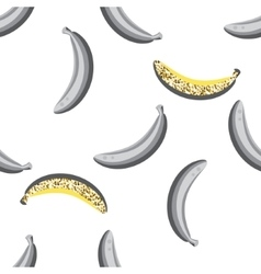 Banana fruit seamless pattern vector