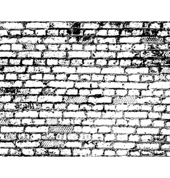 Brick wall detail texture vector image