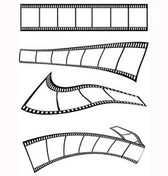 film strips design vector image vector image