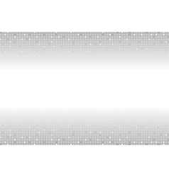 Shiny light sparkling grey squares background vector image