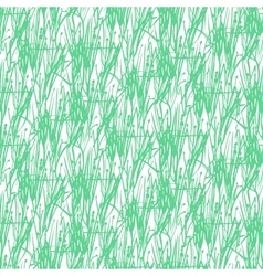 Elegant pattern with abstract grass silhouettes vector