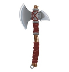 Battle axe vector