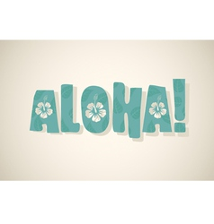 Aloha word vector