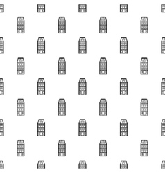 Dutch house pattern simple style vector