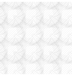 Seamless linear pattern with thin poly-lines vector image