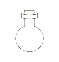 Bottle path vector
