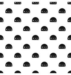 Dutch cheese pattern simple style vector image