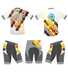 Sports graphics chain on t-shirt vector