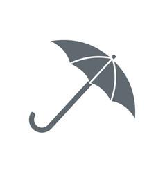 Umbrella sketch icon vector