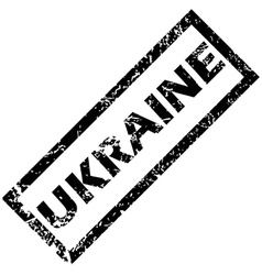 Ukraine stamp vector