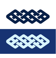 Celtic knot - decorative pattern vector