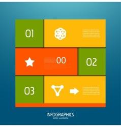 Infographic banner design elements vector