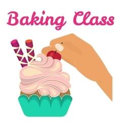 Baking cooking class vector