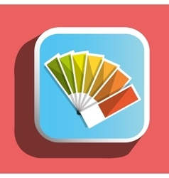 Colorful pantone icon vector