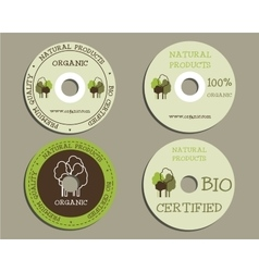 Organic cd dvd templates sign icon compact vector