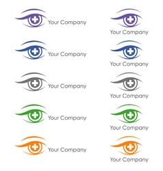 Ophthalmologist logo vector