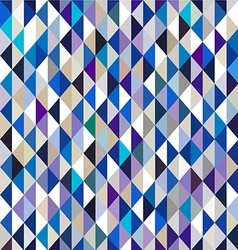 Colorful retro triangle seamless background vector