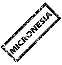 Micronesia stamp vector