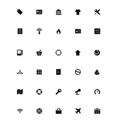 Mini icons 8 vector