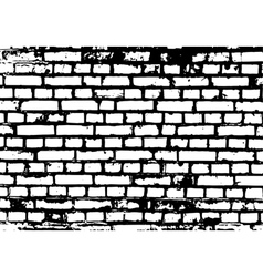 Brick wall detail texture vector