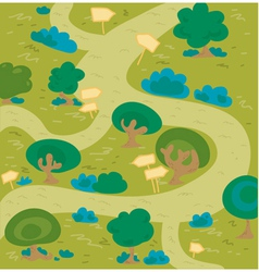 Labyrinth wood vector