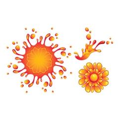 spray vector image