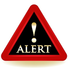 Alert Warning Sign vector image