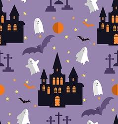 Halloween pattern21 vector image