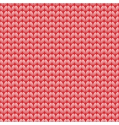 Seamless knitted pattern woolen cloth knit vector