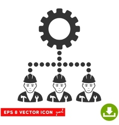 Service staff eps icon vector