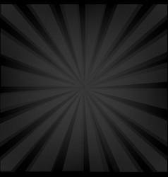 Black background texture with sunburst vector