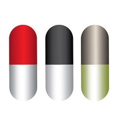 capsules design vector image