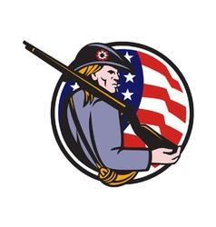 American patriot vector