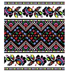 Ukrainian national ornament vector