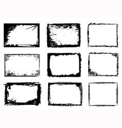Grunge frames vector
