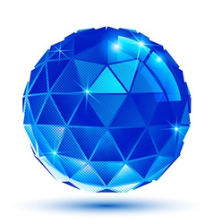 Bright plastic radiance 3d eps10 spherical object vector