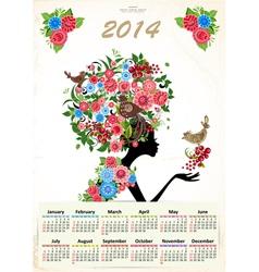 calendar2 vector image
